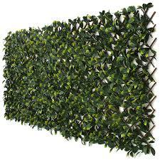 The Laurel Leaf Equipment For Expandable Faux Ivy Trellis Privacy Fence Backyard Privacy Wood Garden Trellis Lattice Garden