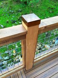 Copper Post Cap Backyard Fences Deck Posts Backyard