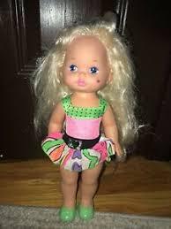 lil miss makeup 1988 doll little mattel