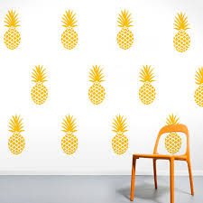 Pineapple Wall Stickers Diy Creative Home Decor Kids Bedroom Wall Decals Vinyl Art Sticker For Nursery Pineapple Wall Sticker Wall Stickerstickers For Aliexpress