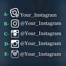 Instagram Car Decal Custom Instagram Decal Etsy In 2020 Instagram Decal Custom Car Decals Car Decals