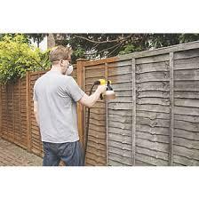 Wagner 2369472 460w Electric Fence Decking Sprayer 220 240v Electric Paint Sprayers Screwfix Com