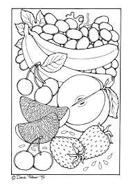 Kleurplaat Fruit Gratis Kleurplaten Om Te Printen