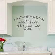 Laundry Room Vinyl Wall Decal Sticker Small 12 99 Via Etsy Vintage Laundry Room Wall Decals Laundry Vintage Laundry