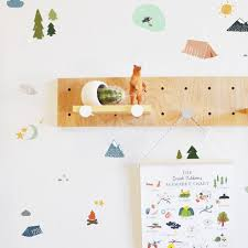 Wall Decal Camping Adventure Camping Decor Wall Sticker Room D The Lovely Wall Company