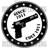 Kimber Handgun Logo Vinyl Sticker Decal Black Free Shipping Ebay