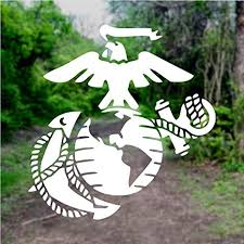 Amazon Com Usmc Pick Color Vinyl Transfer Sticker Decal For Laptop Car Truck Window Bumper 5in X 4 8in White Arts Crafts Sewing