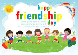 Happy Friendship Day Greeting Card With ...