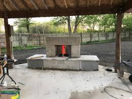 cinder block chimney help