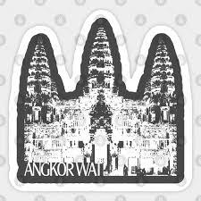 Angkor Wat Angkor Wat Sticker Teepublic