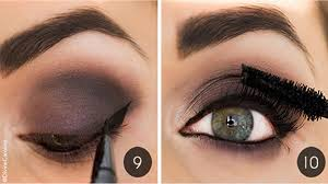 perfect smokey eye makeup for prom