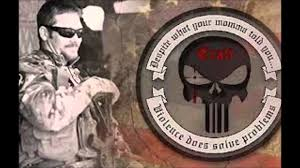 140 Chris Kyle Punisher Logo