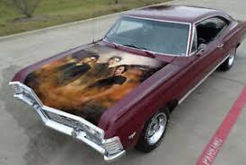 Supernatural Castiel Car Hood Wrap Full Color Vinyl Sticker Decal Fit Any Car Ebay