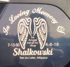 Got My Decal Made And Applied To My Car Until Valhalla Watch Over Me Sister Love You To The Moon And Back Usmc
