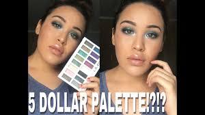 eyeshadow palette makeup tutorial