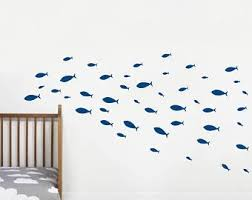 Fish Wall Stickers Etsy