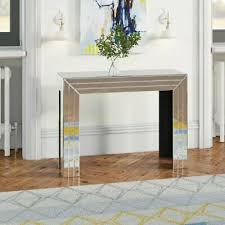 mirrored console table furniture living
