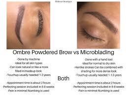 permanent makeup hideout boutique