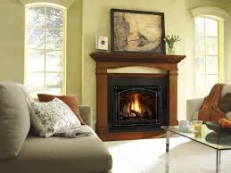 traditional fireplace or artificial
