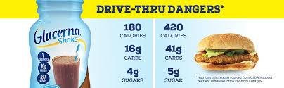 glucerna diabetes nutritional shake