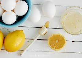 honey lemon egg white diy mask homemade 4 - The Kitchen McCabe