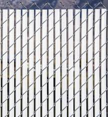 6 Bottom Locking Double Wall Chain Link Fence Slats At Menards