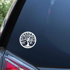 Black Sliver Tree Of Life Decal Car Bumper Window Trunk Vinyl Decals Stickers Art Car Decor Waterproof S135 Car Stickers Aliexpress