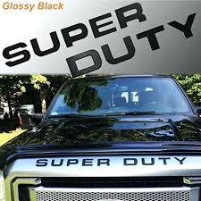 Super Duty Sticker Ford 1 F250 Decal Window Toqueglamour