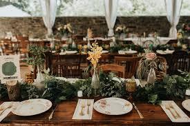 a vintage garden party wedding in a