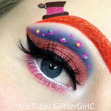 the mad hatter makeup look