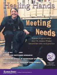 Healing Hands Spring 2015 by K-State College of Veterinary Medicine - issuu