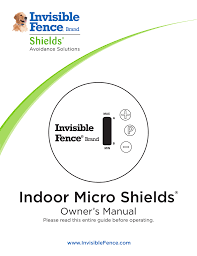 Indoor Micro Shields Cloture Invisible Montreal Manualzz