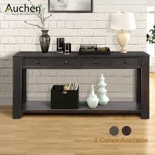 auchen entryway table rustic wood