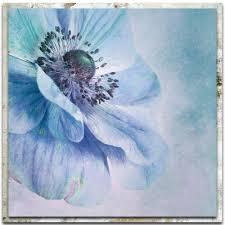 chic home decor flower print