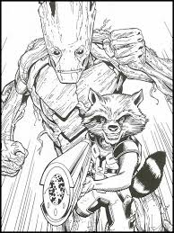 Avengers Endgame Kleurplaat Printen 25