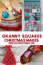 crochet easy granny