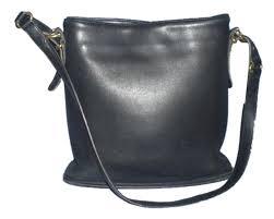 coach bucket 9806 slim vintage black