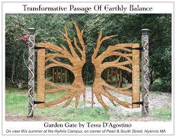 garden gate construction wood