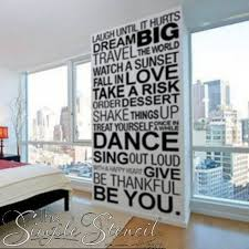 Inspirational Wall Phrases Large Wall Decal Vinyl Wall Art Decal Inspirational Quote Motivational Decals Wall Phrases Large Wall Decals Letter Wall Decor