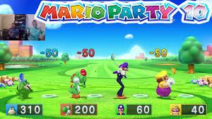 mario party 10 mini games wii u