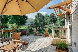 Asian Landscape In Ames Iowa With Customized Decks And Patios