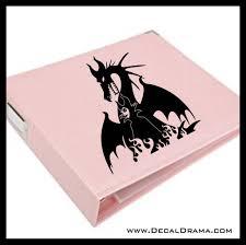 Maleficent The Magnificent Sleeping Beauty Villain Vinyl Car Laptop Decal Drama