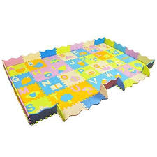 Aimerday Extra Large Baby Puzzle Play Mat With Fence Non Toxic Thick Interlocking Foam Floor Tiles With 28 Paterns Alphabet C Baby Play Mat Tummy Time Play Mat