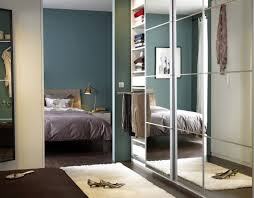 auli pair of sliding doors mirror