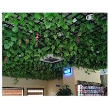 2.5M Artificial Ivy green Leaf Garland Plants Vine Fake Foliage Flowers  Home Decor Plastic Artificial Flower Rattan string|Artificial & Dried  Flowers| - AliExpress