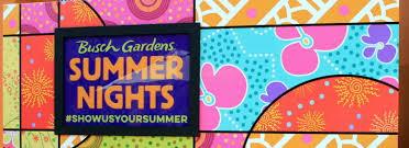 summer nights 2017 at busch gardens