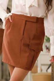 Skirt ADELA, Price € 20.86, Colour: beige | Fast shipping