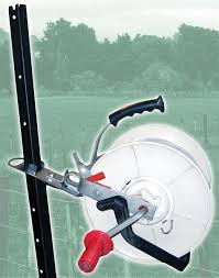Steel Post Reel Holder Live Wire Products Llc
