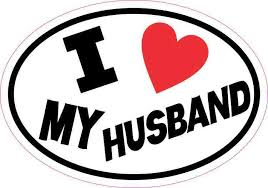 5in X 3 5in Oval I Love My Husband Sticker Vinyl Car Decal Cup Stickers Stickertalk
