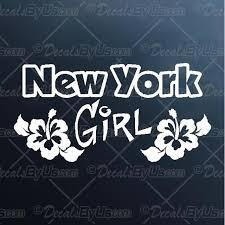 New York Girl Decal New York Girl Car Sticker Best Prices
